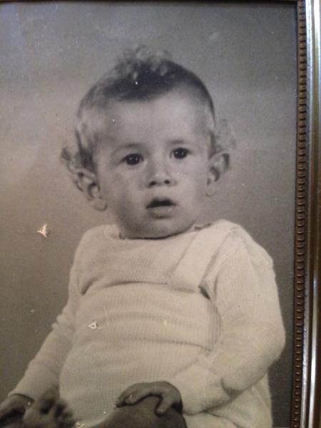 oer Nico de Jong babyfoto