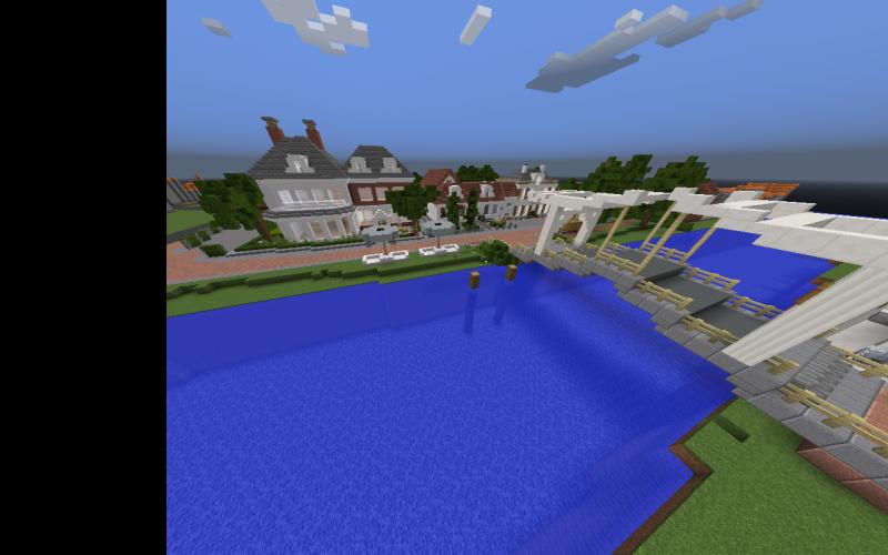 Vreeland in Minecraft
