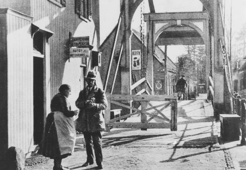 Loenen Vechtbrug Tol 30-er jaren JL__0070